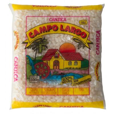 4369 - canjica de milho branca Campo Largo 500g