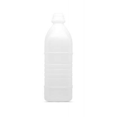4379 - frasco 1L quadrado com tampa transparente com lacre Orien 50un