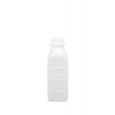 4380 - frasco 300ml quadrado com tampa transparente com lacre Orien 100un