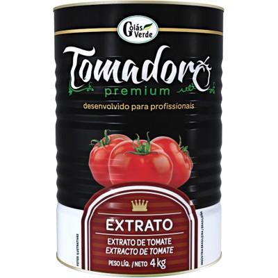4424 - extrato tomate Tomadoro premium lata 4kg brix 15%