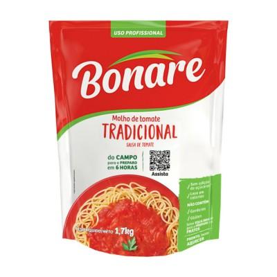 4425 - molho tomate tradicional Bonare bag 2kg