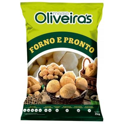 4532 - pão de queijo congelado 25gr Oliveira's 2kg