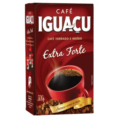 4554 - café extra forte Iguaçu vácuo 500g