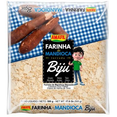 4577 - Farinha de mandioca biju Amafil 500g