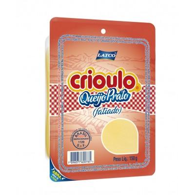 4742 - queijo prato fatiado Crioulo 150g