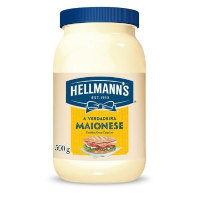 4760 - maionese Hellmann's pote 500g 33% de lipídios