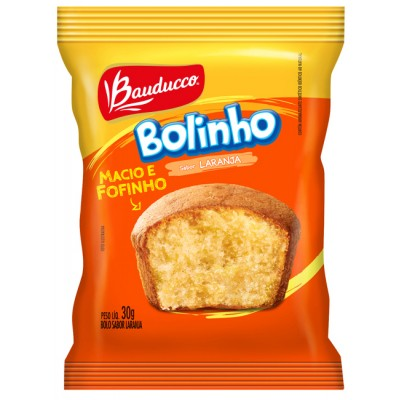 4787 - bolinho laranja Bauducco 14 x 30g