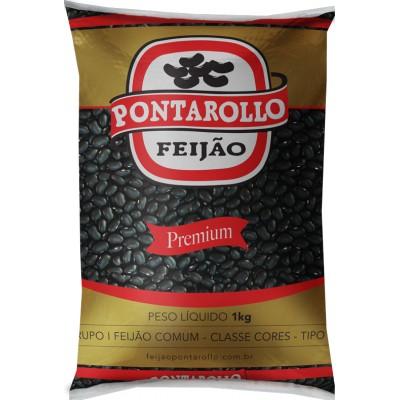 4878 - feijão preto Pontarollo 1kg