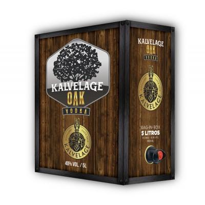 4900 - vodka Kalvelage oak bag in box 5L