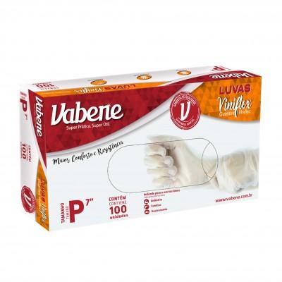 5116 - luva viniflex sem pó pequena Vabene 100un