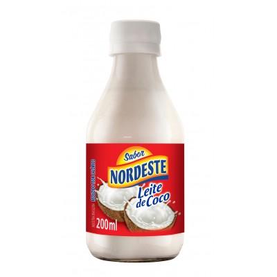 5257 - leite coco 6% gordura nordeste garrafa 200ml