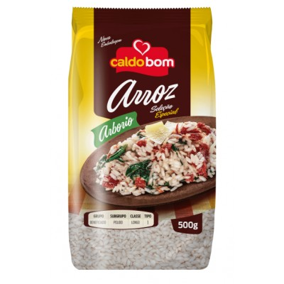 5332 - arroz arbório Caldo Bom 500g