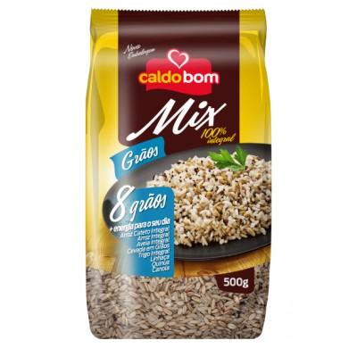 5335 - arroz mix grãos Caldo Bom 500g 8 grãos