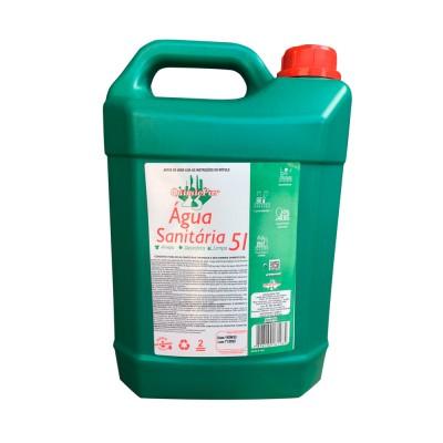 5347 - água sanitária Clara 5L