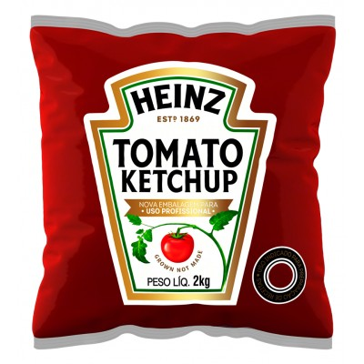 5377 - catchup Heinz  bag 2kg
