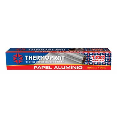 5409 - papel alumínio 30cm x 100mt Thermoprat