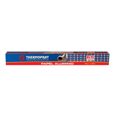 5410 - papel alumínio 45cm x 65mt Thermoprat