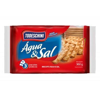 5431 - biscoito água e sal Todeschini 360g