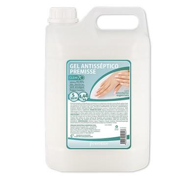 5464 - álcool gel 70 graus antisséptico Clean 70 Premisse 5L