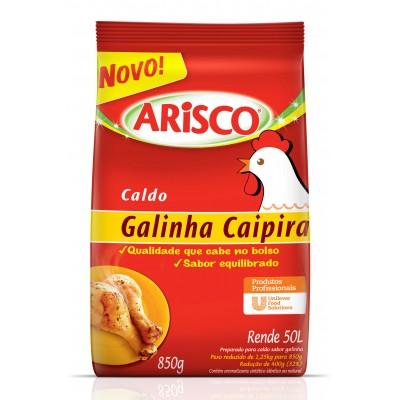 5467 - caldo de galinha caipira Arisco 850g rende 50L
