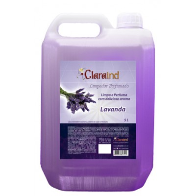 5552 - limpador perfumado lavanda Clara 5L (desinfetante)