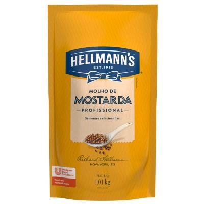 5588 - mostarda amarela Hellmann's 1,01kg