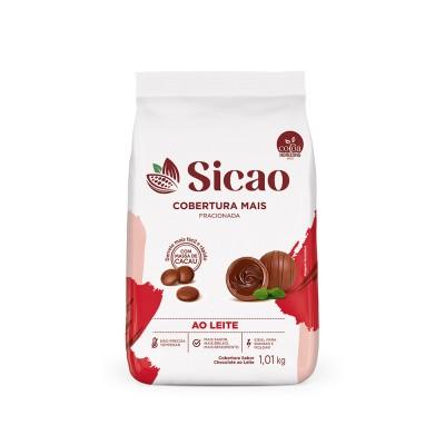 5660 - cobertura chocolate ao leite gotas 1,01kg Sicao mais