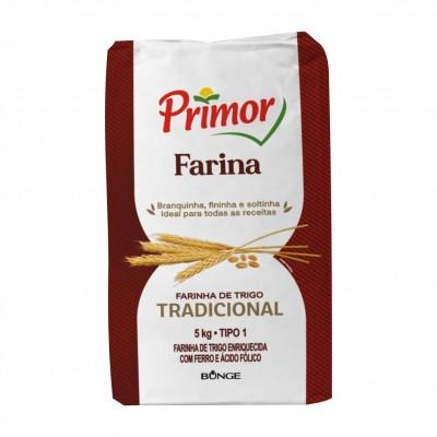 5734 - Farinha de trigo 5kg Primor