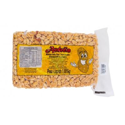 5811 - amendoim torrado metades s/pele Andréia 1,001kg