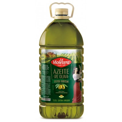 5823 - azeite oliva extra virgem 0,4% La Violetera 5,03lt