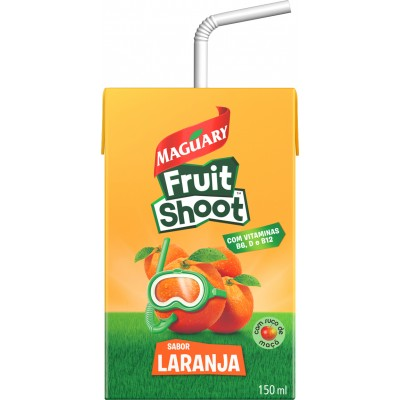 5914 - Maguary Fruit Shoot bebida de fruta laranja 27 x 150ml