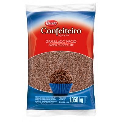 5929 - granulado macio chocolate preto Confeiteiro 1,05kg