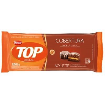 5936 - cobertura chocolate ao leite barra 1,05kg Top