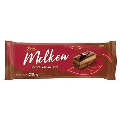 5942 - chocolate ao leite barra 2,1kg Melken