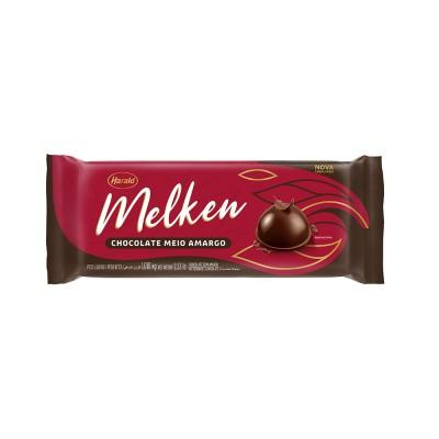 5955 - chocolate meio amargo barra 1,05kg Melken
