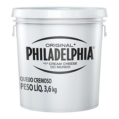 5997 - Cream Cheese Philadelphia balde 3,6kg