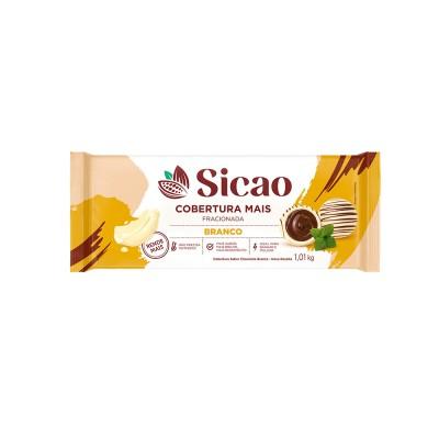 6010 - cobertura chocolate branco barra 1,01kg Sicao mais