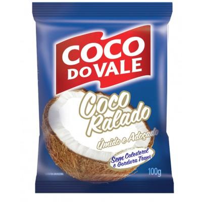 6021 - coco ralado úmido e adoçado coco do Vale 100g