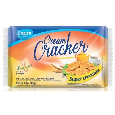 6063 - biscoito Cream Cracker Luam 300g
