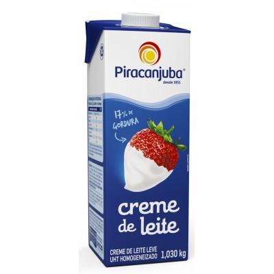 6070 - creme de leite Piracanjuba 1,03kg 17% de gordura
