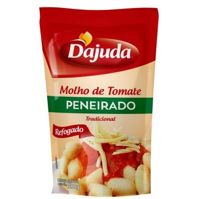 6076 - molho tomate tradicional peneirado D'ajuda sachê 200g