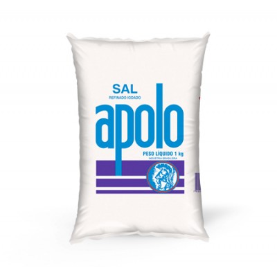 6089 - sal refinado Apolo 1kg