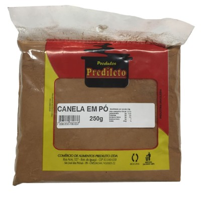6120 - canela extra pó Predileto 250g