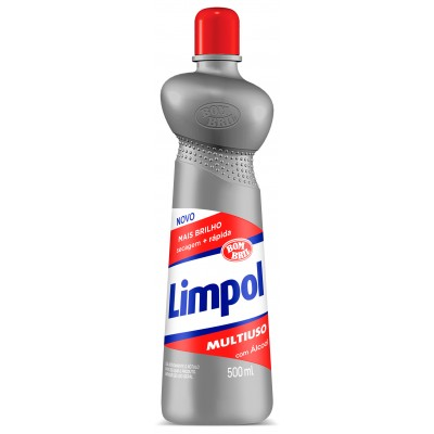 6148 - multiuso tradicional com álcool Limpol Bombril 500ml