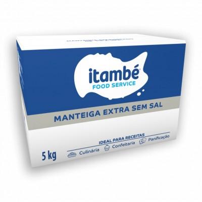 6159 - manteiga sem sal Itambé 5kg