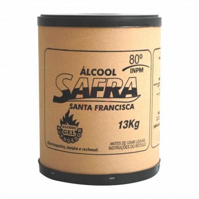 6171 - álcool para rechaud Safra 13kg - gel acendedor