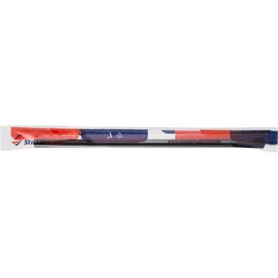 6195 - canudo mexedor preto 17,5cm x 6mm Strawplast 100un