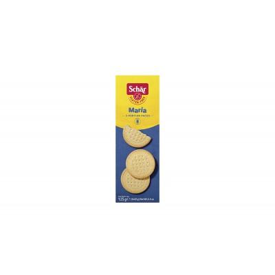 6207 - biscoito Maria 3 x 42g sem glúten Schär 125g