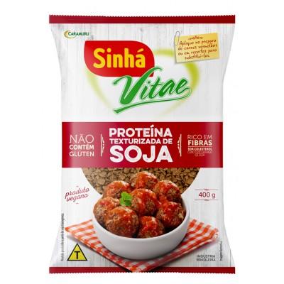 6222 - proteína soja escura Sinhá Vitae 400g