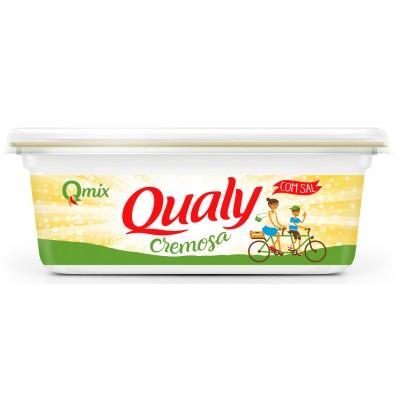 6238 - margarina com sal 80% lipídios Qualy 250g